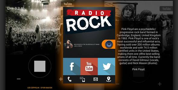 Smart radio streaming titanium app source code codester for Titanium app templates