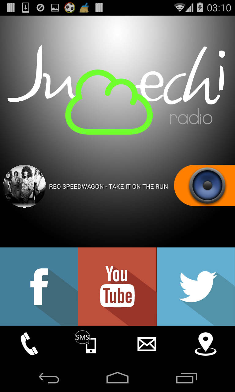 Smart Radio Streaming Titanium App Source Code Screenshot 3