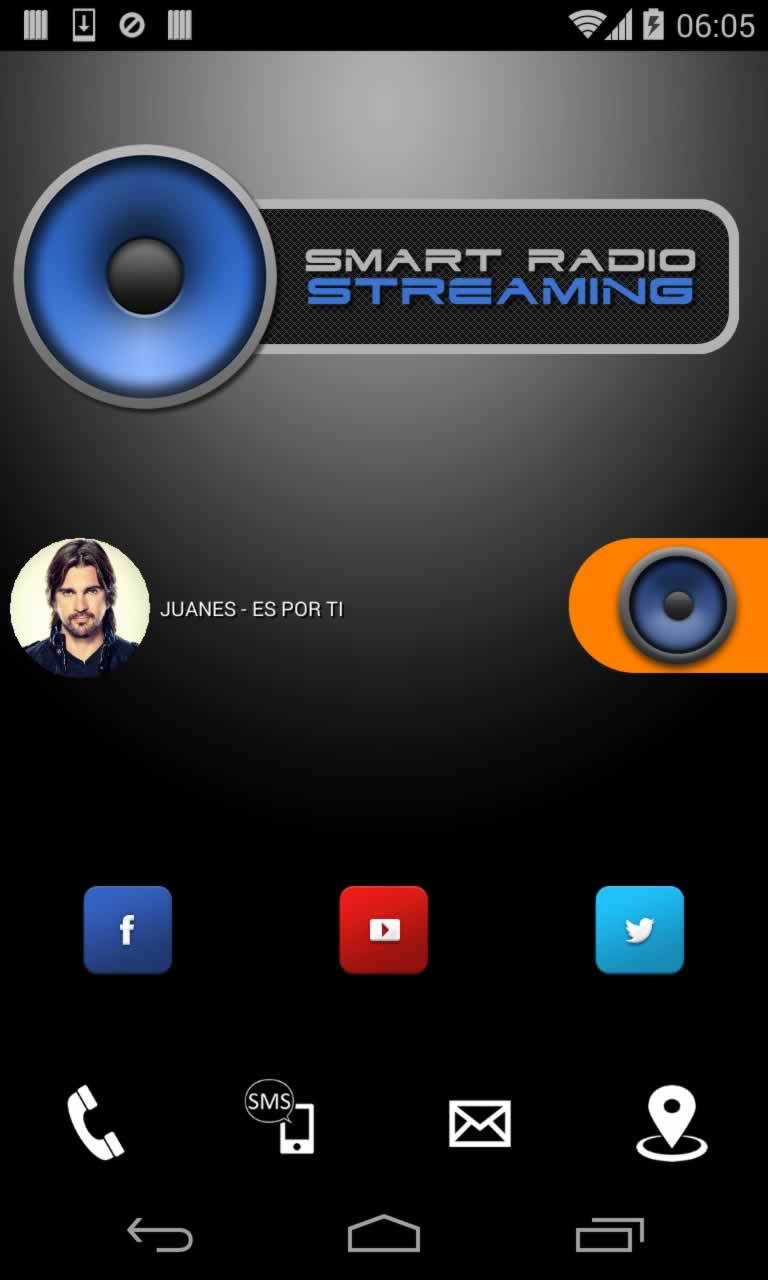 Smart Radio Streaming Titanium App Source Code Screenshot 10