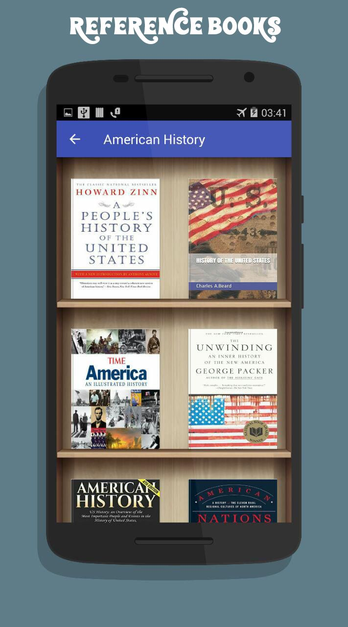American History App Android Source Code Screenshot 5