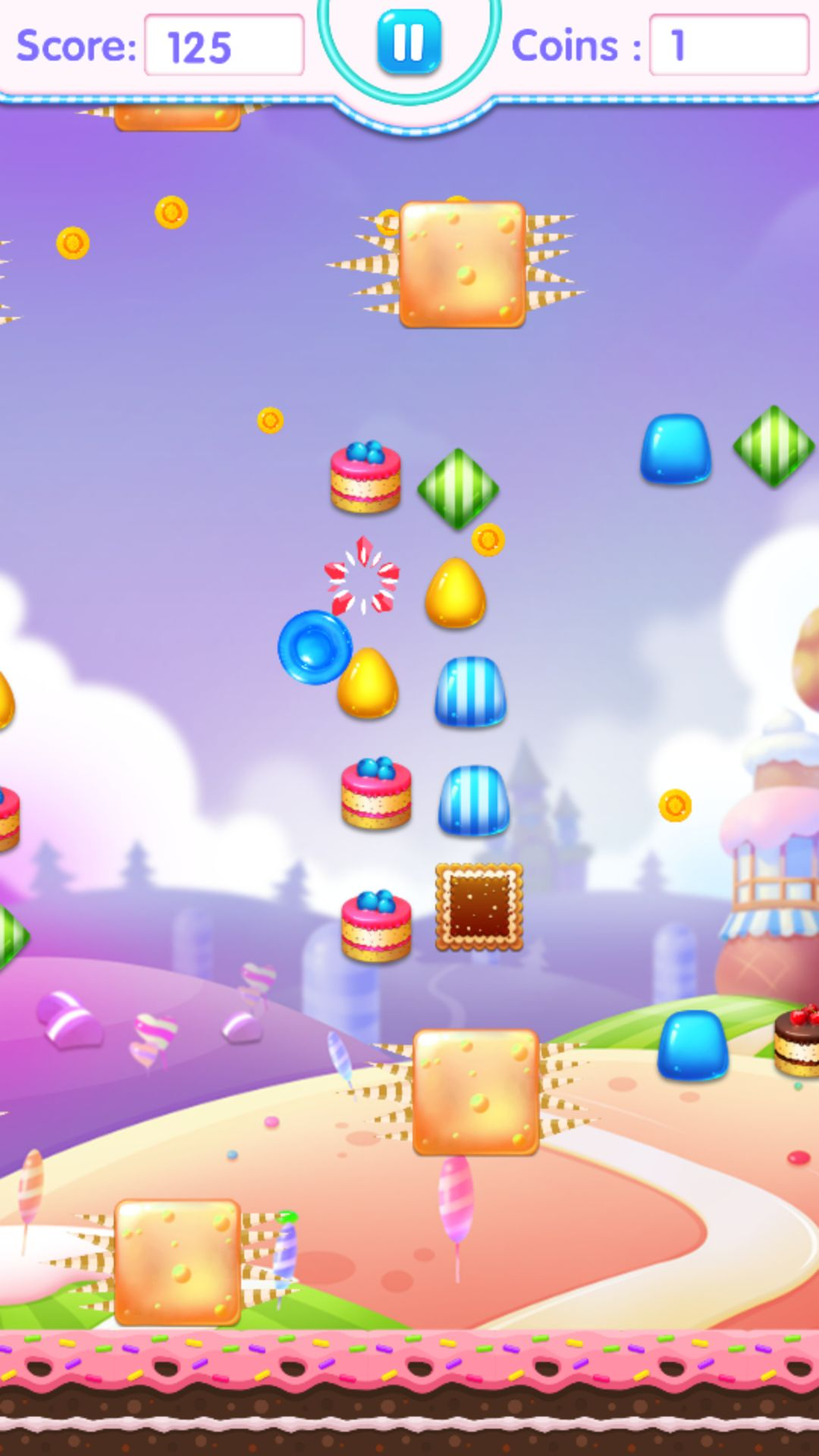 Candy Jump Android Source Code Screenshot 1