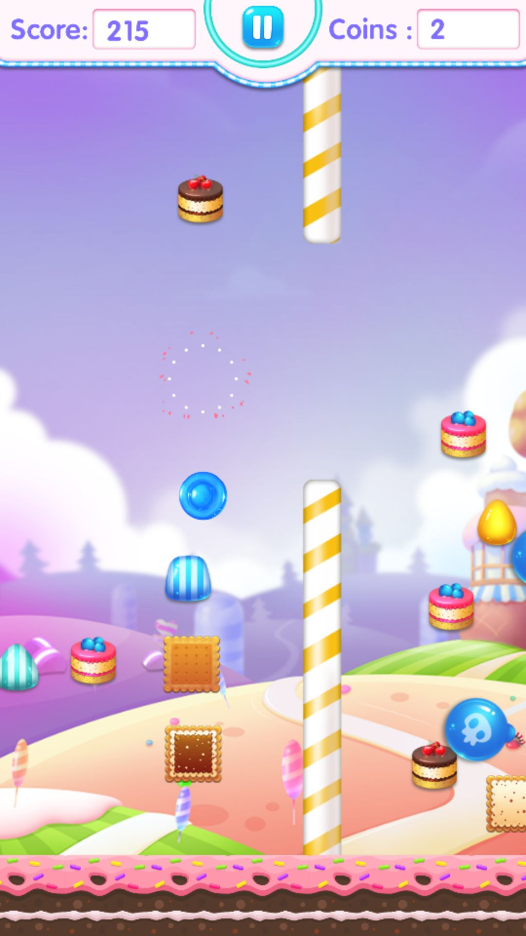 Candy Jump Android Source Code Screenshot 3