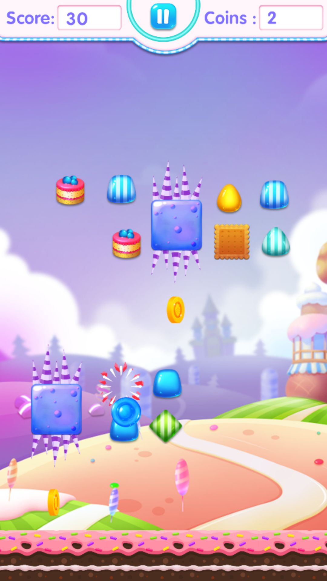 Candy Jump Android Source Code Screenshot 5