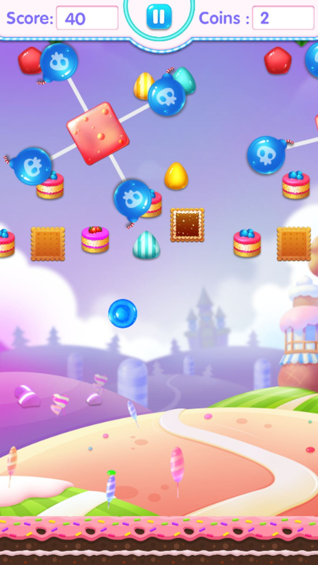 Candy Jump Android Source Code Screenshot 6