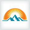mountains-logo-template