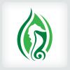 seahorse-logo-template