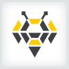 abstract-bee-logo-template