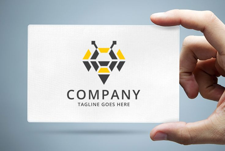 Abstract Bee Logo Template Screenshot 1