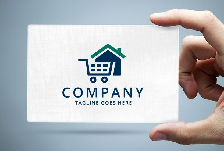 Home Cart Logo Template Screenshot 1