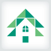 Pine Tree House Logo Template