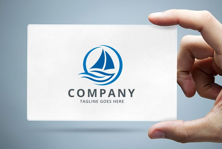 Global Sail Logo Template Screenshot 1