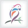 parrot-bird-logo-template