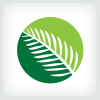 palm-leaf-logo-template