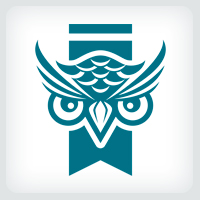 Owl Publishing Logo Template
