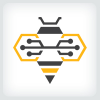 circuit-bee-logo-template