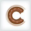 donut-bite-logo-template