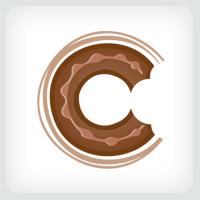 Donut Bite Logo Template