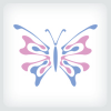 butterfly-logo-template