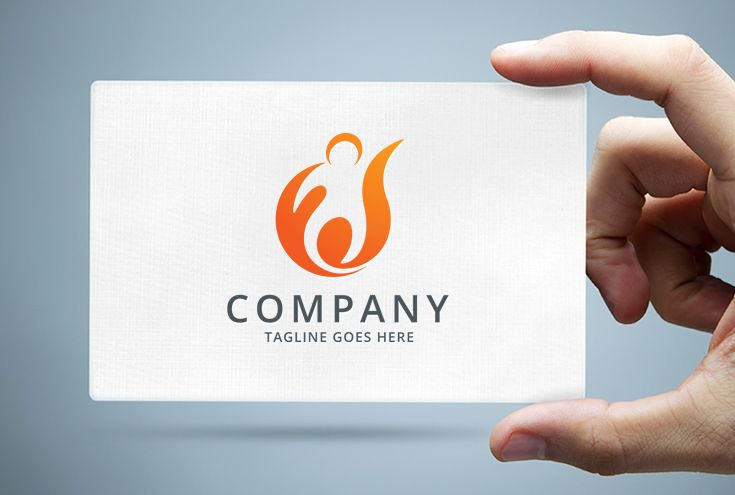People Ignite Logo Template Screenshot 1