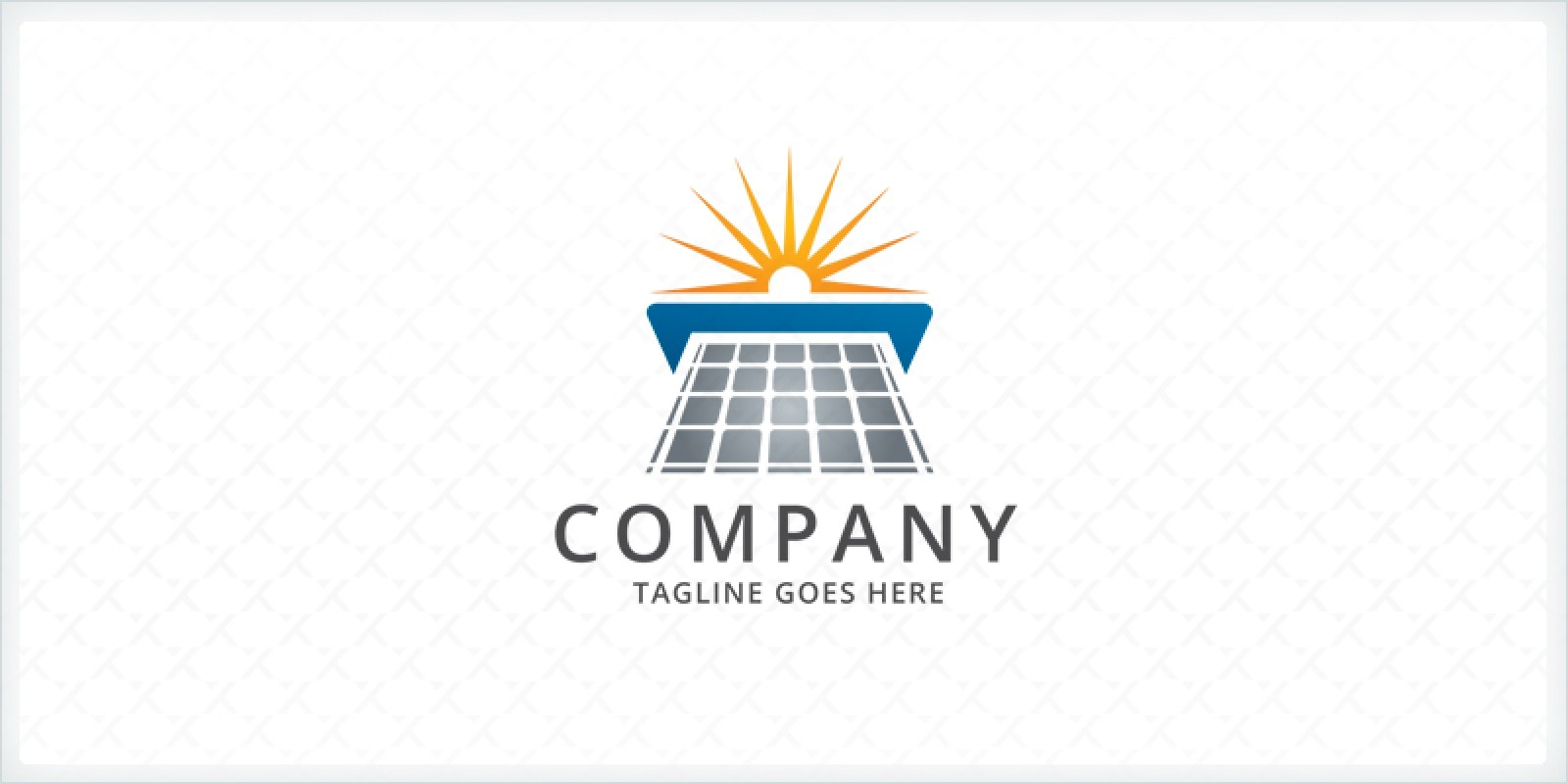 Solar Panel Logo Template By Zixlo Codester