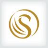 letter-s-swan-logo-template