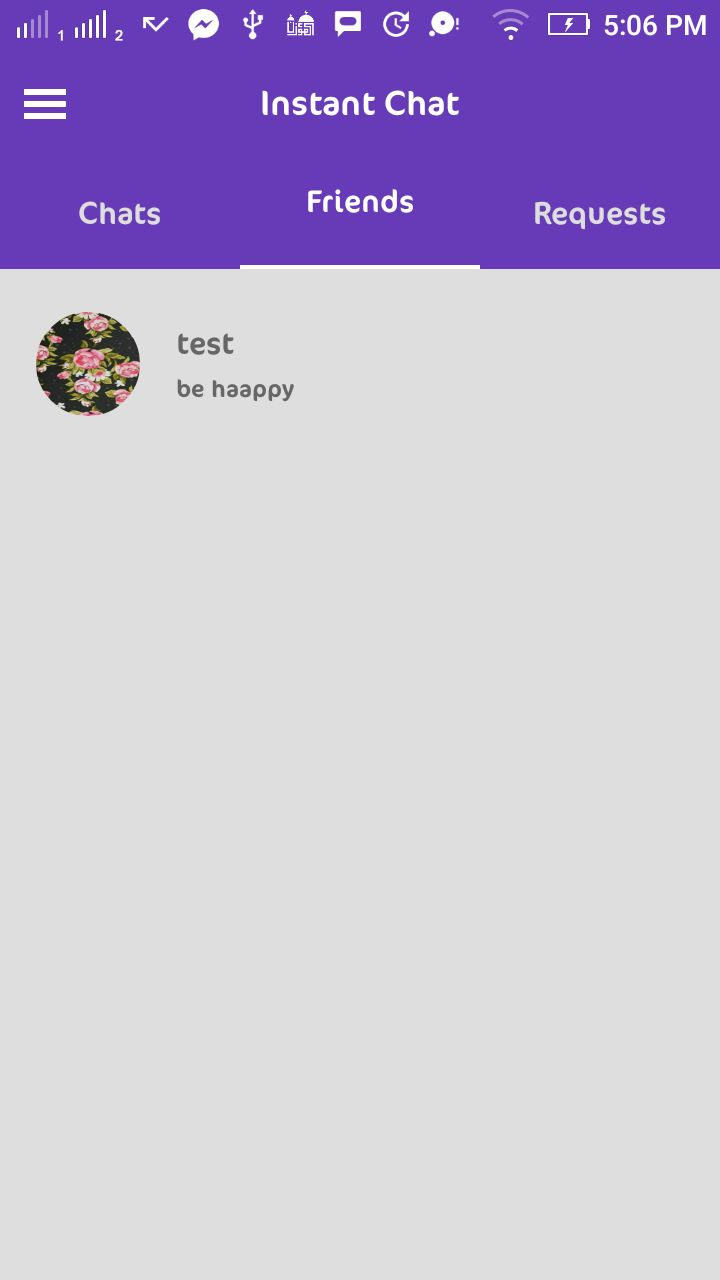 Instant Chat - Android Source Code And PHP Backend Screenshot 5