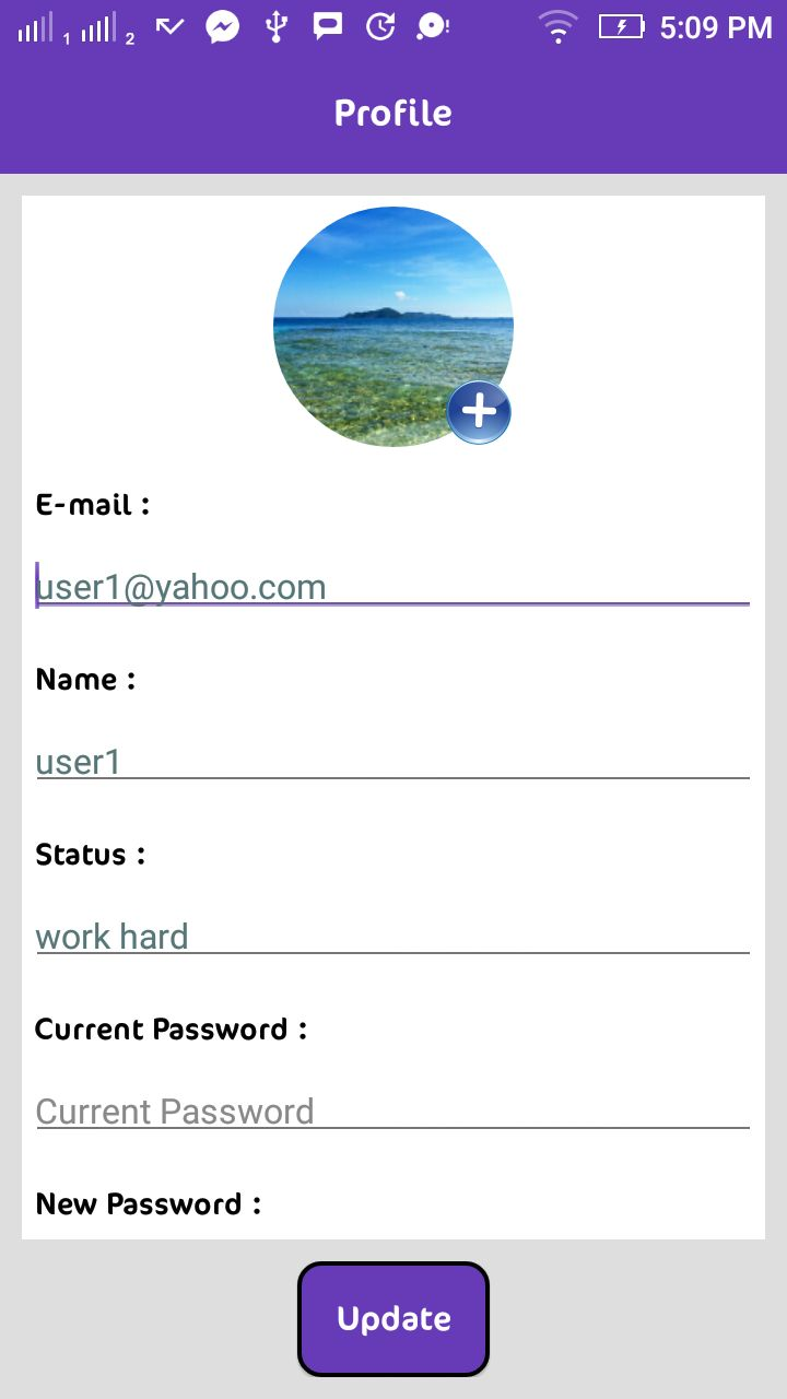 Instant Chat - Android Source Code And PHP Backend Screenshot 12