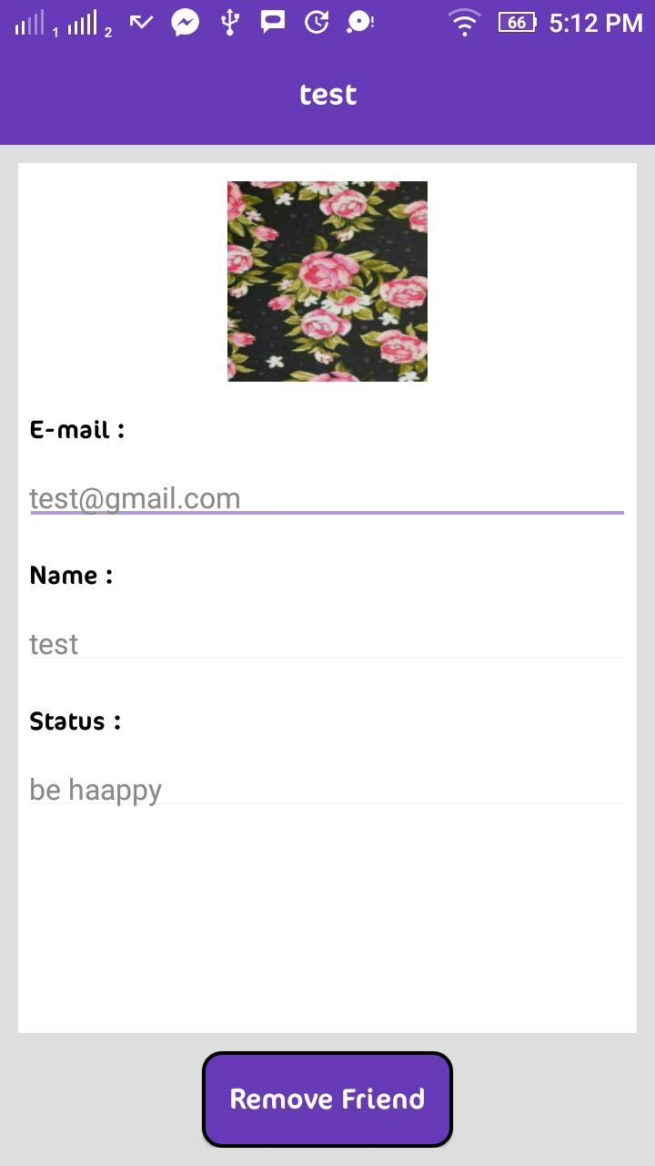 Instant Chat - Android Source Code And PHP Backend Screenshot 19