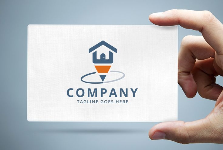 Home Pencil Logo Template Screenshot 1