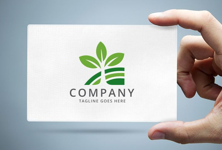 Landscaping - Tree Logo Template Screenshot 1