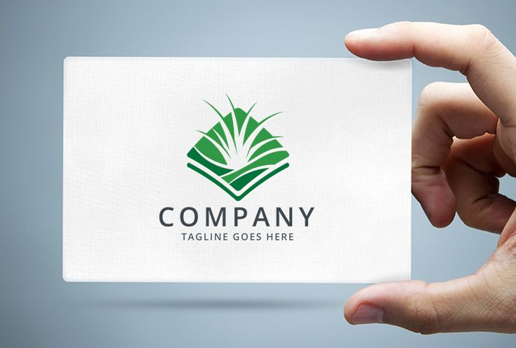 Grass Turf Lawn Care Logo Template Screenshot 1