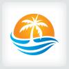 palm-tree-logo-template