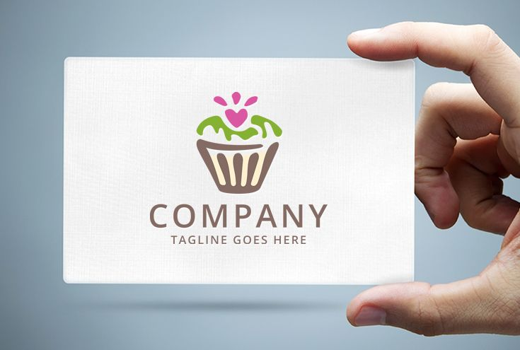 Cupcake Logo Template Screenshot 1