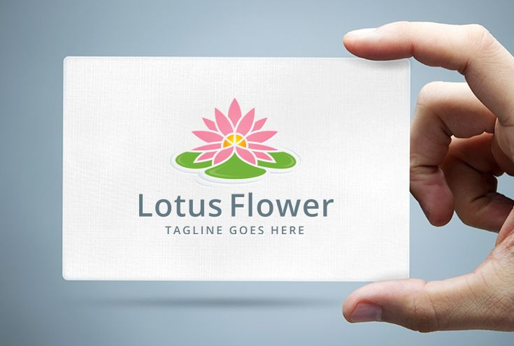 Lotus Flower Logo Template Screenshot 1