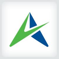 Stylized Letter A Logo Template