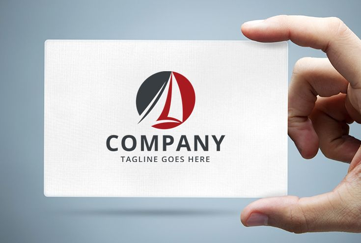 Sailboat Logo Template Screenshot 1