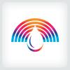 spectrum-water-droplet-logo-template