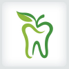 apple-tooth-dental-logo-template
