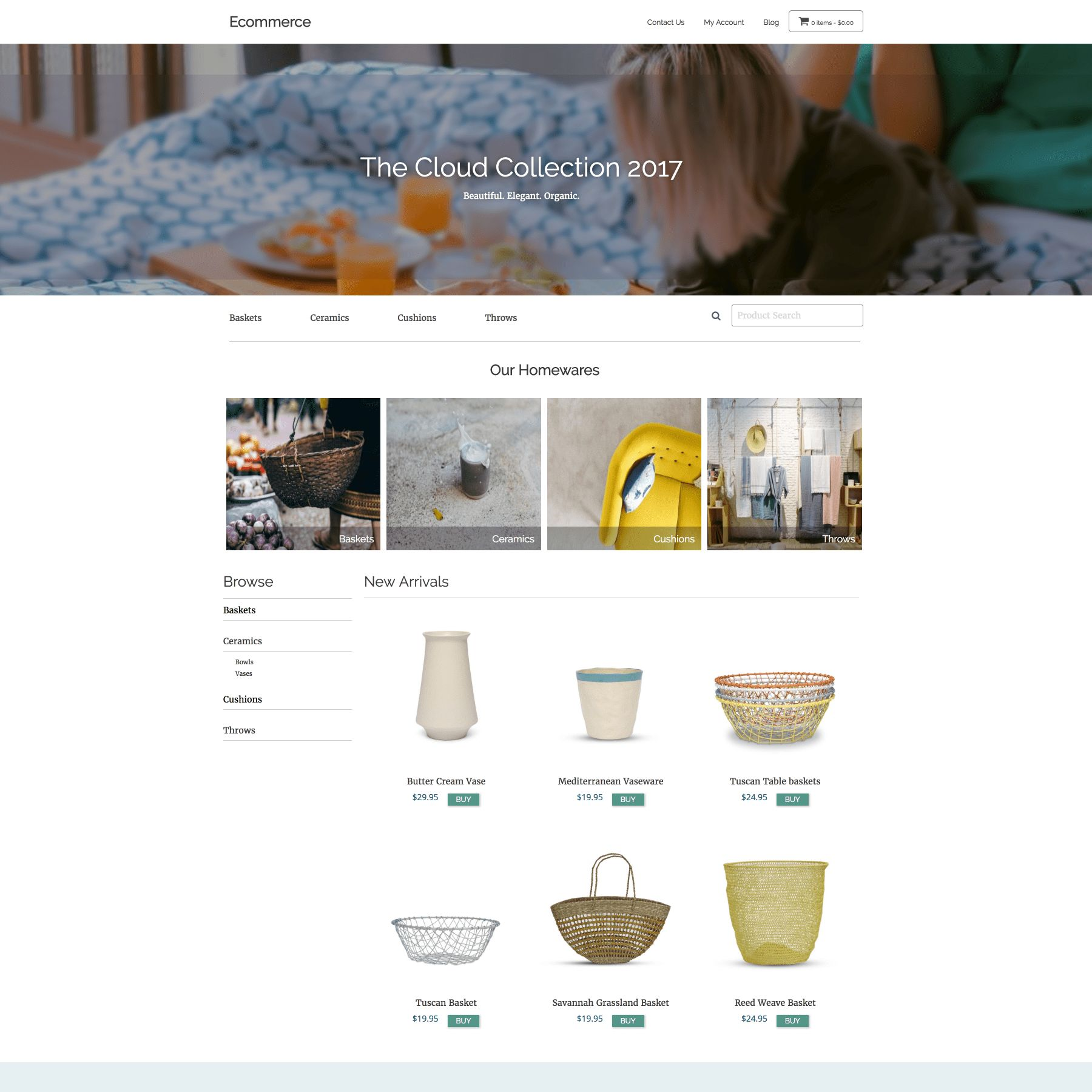 SitePoint Ecommerce WordPress Theme Screenshot 1