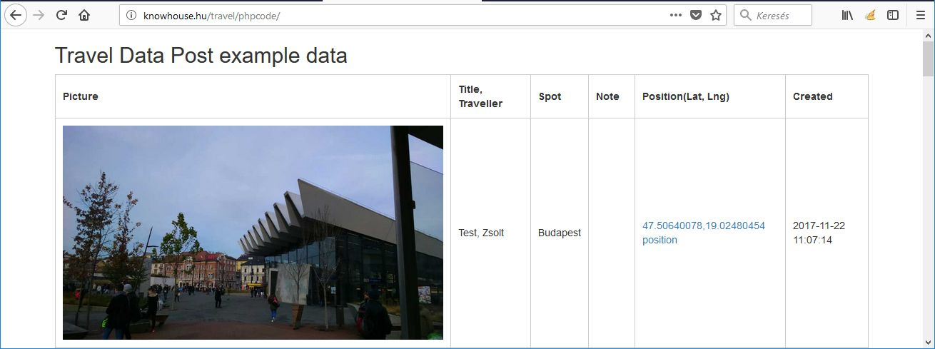Travel Data Post - Ionic 3 App With PHP Backend Screenshot 9