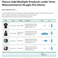 Add Multiple Products WooCommerce Plugin Screenshot 2