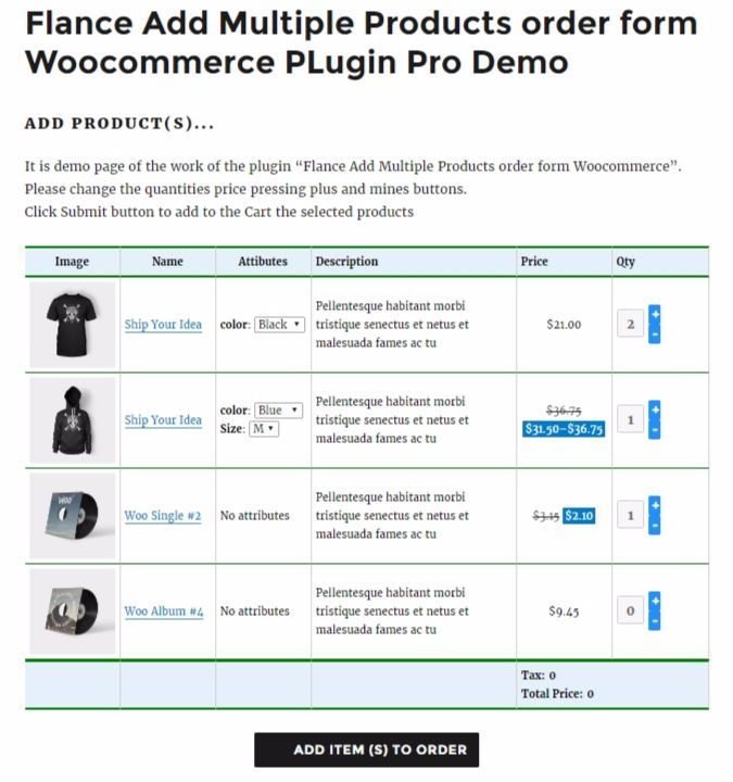Add Multiple Products WooCommerce Plugin Screenshot 3