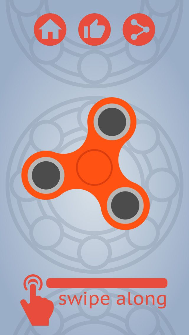 Fidget Spinner Simulator - Buildbox Game Template Screenshot 1