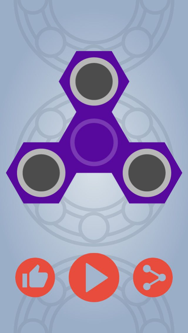 Fidget Spinner Simulator - Buildbox Game Template Screenshot 5