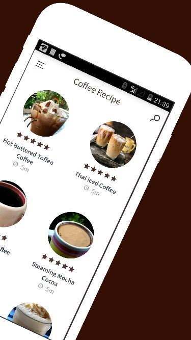 Coffee recipe android recipe app template food app templates for coffee recipe android recipe app template screenshot 4 forumfinder Image collections