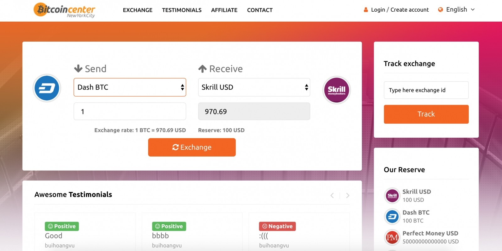 cryptocurrency exchange php