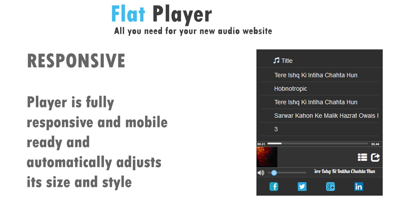 Flat Player Screenshot 2