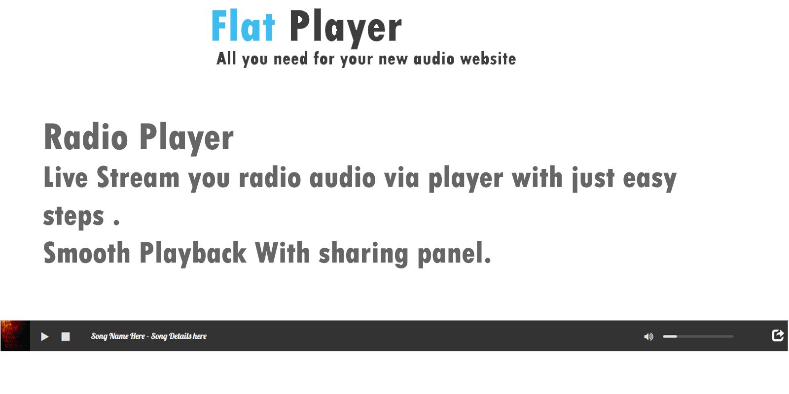 Flat Player Screenshot 3