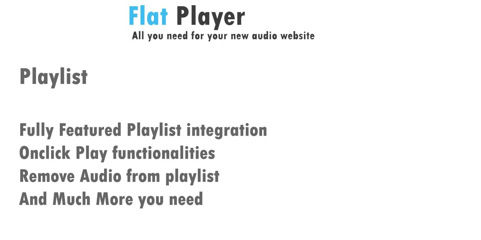 Flat Player Screenshot 4