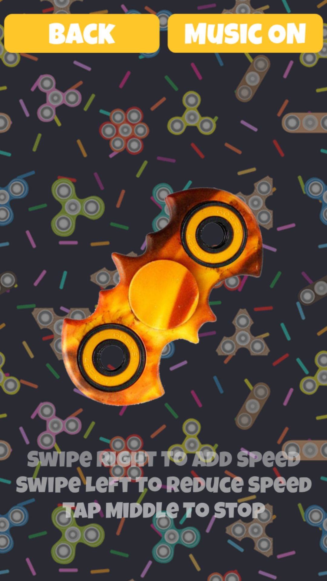 Bat Fidget Spinner - Buildbox Game Template Screenshot 3
